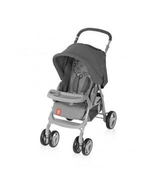 коляска для ребенка прогулочная Bomiko model L07 черного  цвета