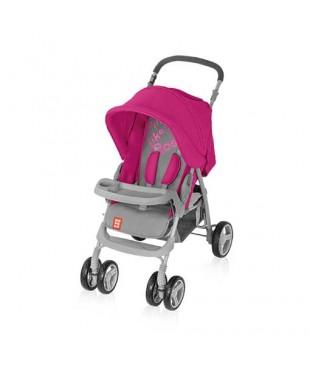 коляска для ребенка прогулочная Bomiko model L08  красного цвета