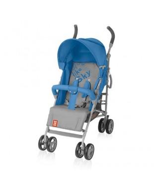 коляска для ребенка прогулочная Bomiko Model M цвет синий 03
