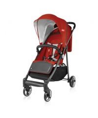 Детская прогулочная коляска Espiro Nano Нано 02 красный