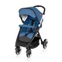 Детская прогулочная коляска Espiro Sonic 03 синий