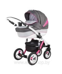 Детская коляска Barletta Барлета Rainbow RB Red-pink