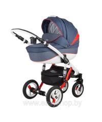 Детская коляска Barletta Барлета Rainbow RB Red-blue