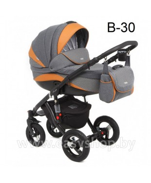 Детская коляска Adamex Barletta  Адамекс Барлета NEW B-30 (vicco, вико) 2в1 / 3в1