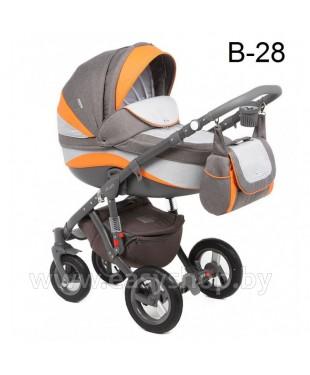 Детская коляска Adamex Barletta  Адамекс Барлета NEW B-28(vicco, вико) 2в1 / 3в1