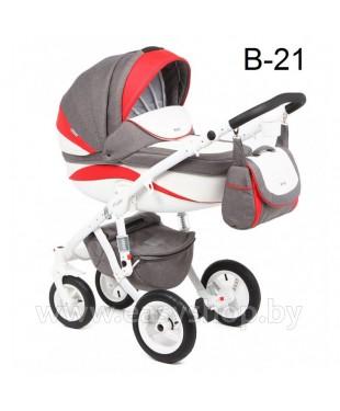 Детская коляска Adamex Barletta  Адамекс Барлета NEW B-21 (vicco, вико) 2в1 / 3в1