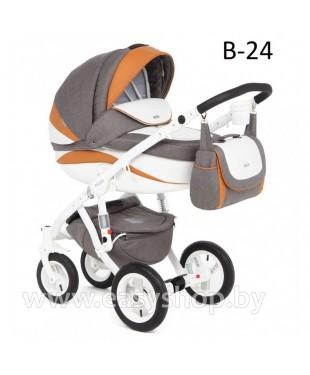 Детская коляска Adamex Barletta  Адамекс Барлета NEW B-24 (vicco, вико) 2в1 / 3в1