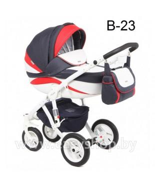 Детская коляска Adamex Barletta  Адамекс Барлета NEW B-23 (vicco, вико) 2в1 / 3в1