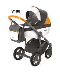 Детская коляска Adamex Massimo Адамекс Массимо Sport V-106