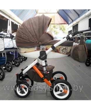 Хороший выбор детских колясок Adamex Barletta Барлета Барлета London Brown