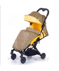 Детская прогулочная коляска Amber (Амбер)  Желтая Yellow