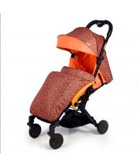 Детская прогулочная коляска Amber (Амбер)  Оранжевая Orange