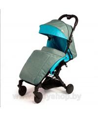 Детская прогулочная коляска Amber (Амбер) Синяя Blue
