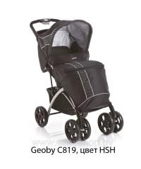 Детская прогулочная коляска Geoby Геоби C819R