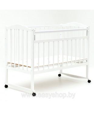 Кроватка BAMBINI 01 Белый