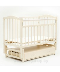 Кроватка Bambini 02 Слоновая кость
