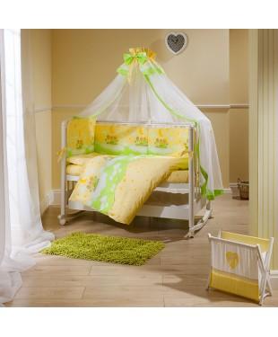 """Купить комплект постельного белья в кроватку """"Аманда"""""""