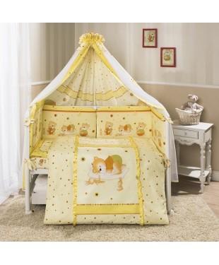 """""""Ника"""" комплект постельное белье в кроватку"""