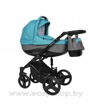Детская коляска Quali Carmelo Кволи Кармело 19 4в1 коляска схожа с конструкцией Adamex