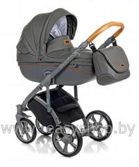 Детская коляска Bass Soft Бас Софт Shadow Grey ECO LE Bass Soft