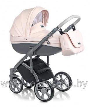 Ищите где купить в Барановичах коляску детскую Bass Soft Бас Софт  Pink ECO
