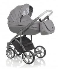 Детская коляска Bass Soft Бас Софт Denim LE: Grey / Graphite Bass Soft