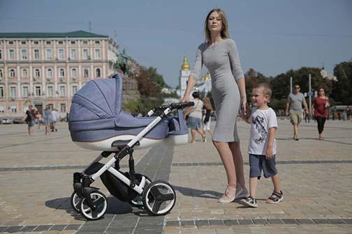 Купить детскую коляску в Брановичах и Гомеле Quali Кармело