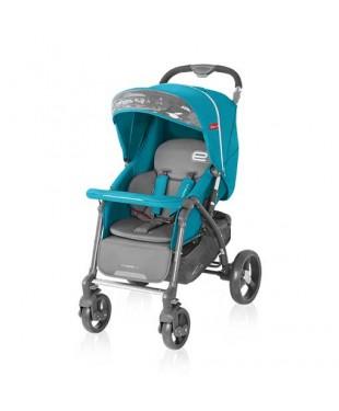 коляска для ребенка прогулочная  Espiro Prego цвет оттенок синий