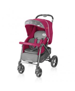 коляска для ребенка прогулочная  Espiro Prego цвет красный