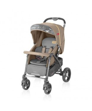 коляска для ребенка прогулочная  Espiro Prego цвет оттенок коричневый