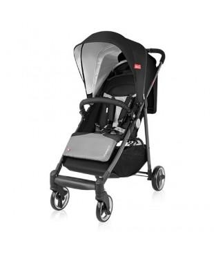 Легкая прогулочная коляска Espiro Nano Нано 10 черный