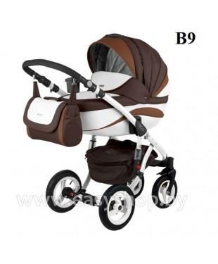 Детская коляска Adamex Barletta  Адамекс Барлета NEW B-9 (vicco, вико) 2в1 / 3в1