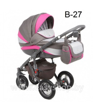 Детская коляска Adamex Barletta  Адамекс Барлета NEW B-27 (vicco, вико) 2в1 / 3в1