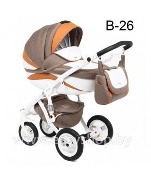 Детская коляска Adamex Barletta  Адамекс Барлета NEW B-26 (vicco, вико) 2в1 / 3в1