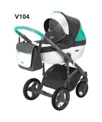 Детская коляска Adamex Massimo Адамекс Массимо Sport V-104
