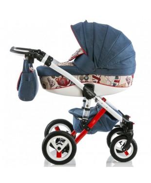 Детские коляски Adamex Barletta Барлета Барлета Word  London в Минске