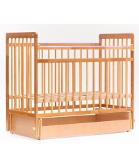кроватка детская BAMBINI 05 (маятник) Euro Style Натуральный