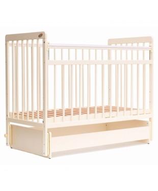 кроватка детская BAMBINI 05 (маятник) Euro Style Слоновая кость