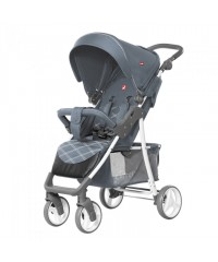 Прогулочная коляска Carrello Quattro Metal Gray