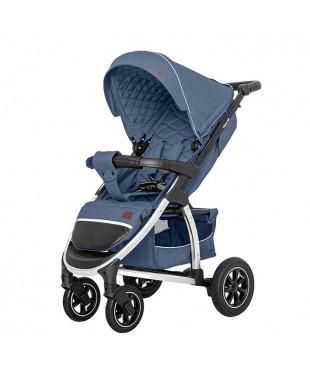 купить коляску Бресте Carello Vista AIR Denim Blue надувные колеса