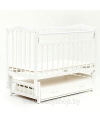Кроватка Bambini 02 Белая