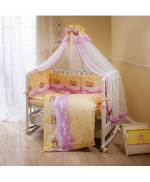 """""""Аманда"""" комплект постельного белья в кроватку"""