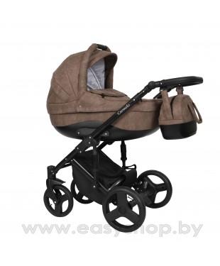 Детская коляска Quali Carmelo Кволи Кармело 150, 4в1 Алькантара. коляска схожа с конструкцией Riko