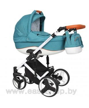 Детская коляска Quali Carmelo Кволи Кармело 100 4в1 в Полоцке.  Доставка по Беларуси курьером.