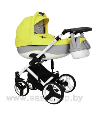 "Детская коляска Quali Carmelo ECO Кволи Кармело 98 ECO 4в1 по цене как за 2в1. Коляски в Могилеве. Цены ниже, чем в магазине ""Планета колясок"""
