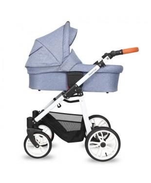 Quali Smart Plus Кволи Смарт Плюс 106 2в1 Джинс  купить коляску в Бресте на Варшавском рынке. Доставка по РБ