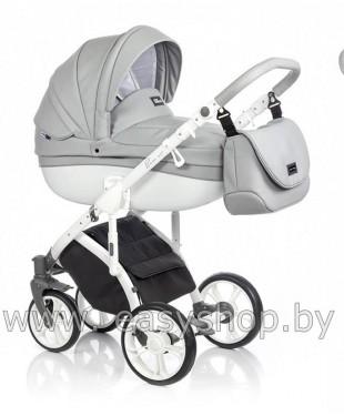 Детская коляска Bass Soft Бас Софт купить в Минске Dove White ECO Bass Soft