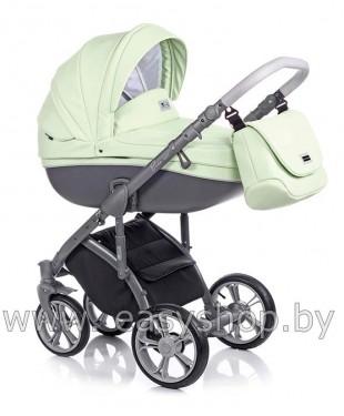 Детская коляска Bass Soft Бас Софт Pastel Mint ECO LE Bass Soft