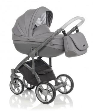Детская коляска Bass Soft Бас Софт купить в Москве Denim LE: Grey / Graphite