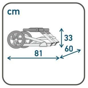 коляска складывается